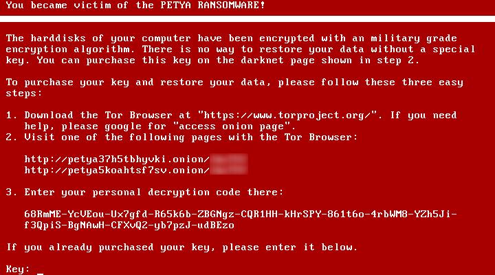 Petya – zwei Trojaner in einem